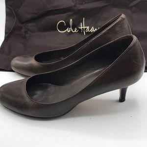 Cole Haan leather heels